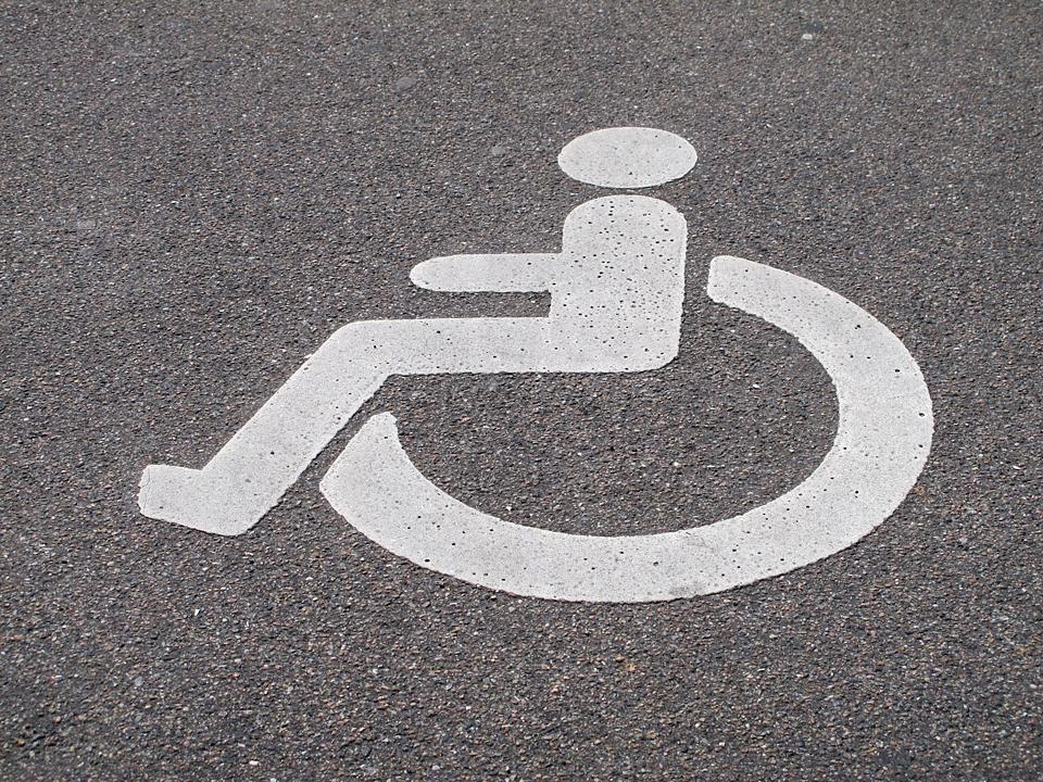 Handicapparkeringsplads i livet